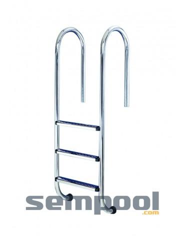 Escalera muro electropulida