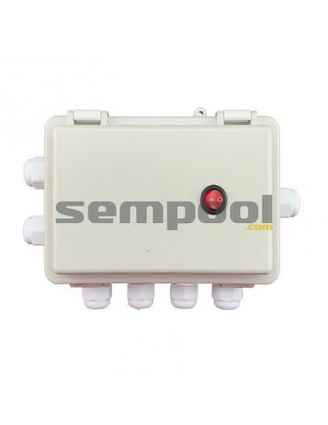 Caja control de luces Leds