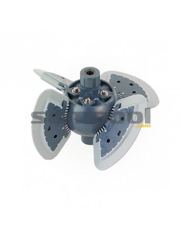 Nº11 Conjunto soporte aletas motor