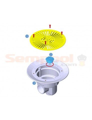 Sumidero circular D270 Astrapool